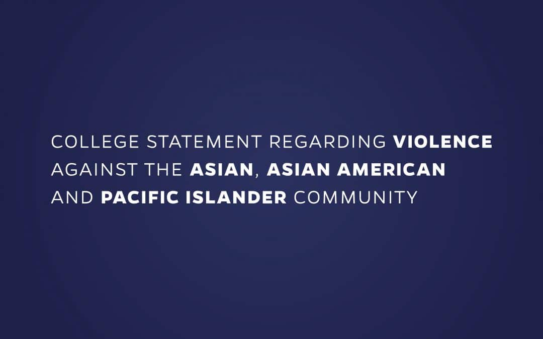 Warrington supports its Asian, Asian American and Pacific Islander community