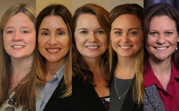 Jennifer Cainas, Sonia Casablanca, Shari Fowler, Michelle Lopez and Traci Johnston.