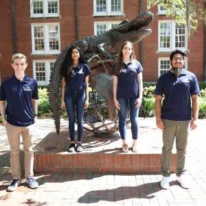 Zachary Kashman, Shreya Venkat, Morgan Crandall and Vikram Singh.