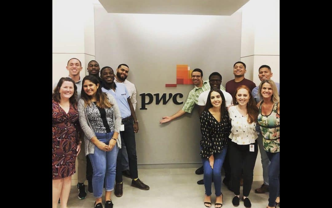 PwC's incoming internship program