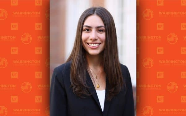 Sofia Gomez is a Fisher School of Accounting student