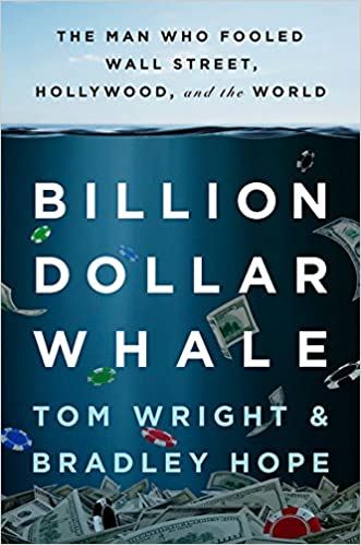 Billion Dollar Whale by Tom Wright and Bradley Hope book cover