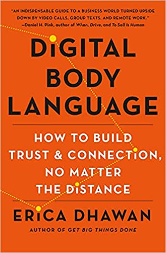 Digital Body Language by Erica Dhawan book cover