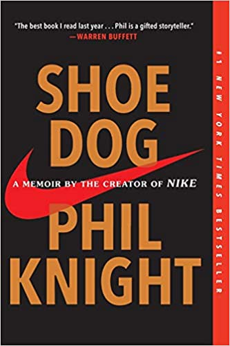 Shoe Dog by Phil Knight book cover
