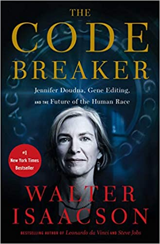 The Code Breaker by Walter Isaacson book cover