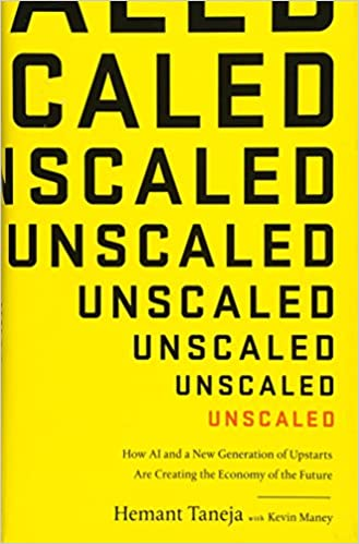 Unscaled book cover by Hemant Taneja
