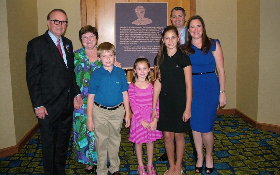 Dr. Irvin N. Gleim and his family