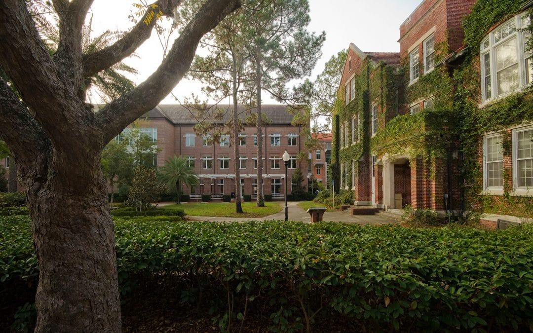University of Florida campus scenics.