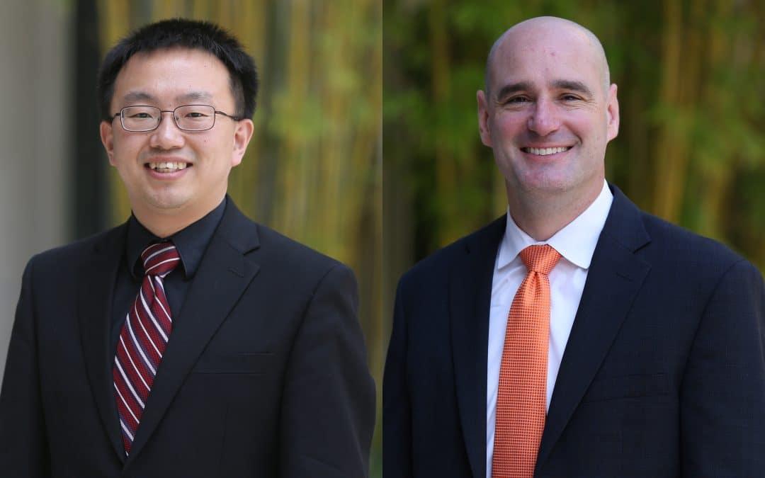 Mo Wang and Aaron Hill
